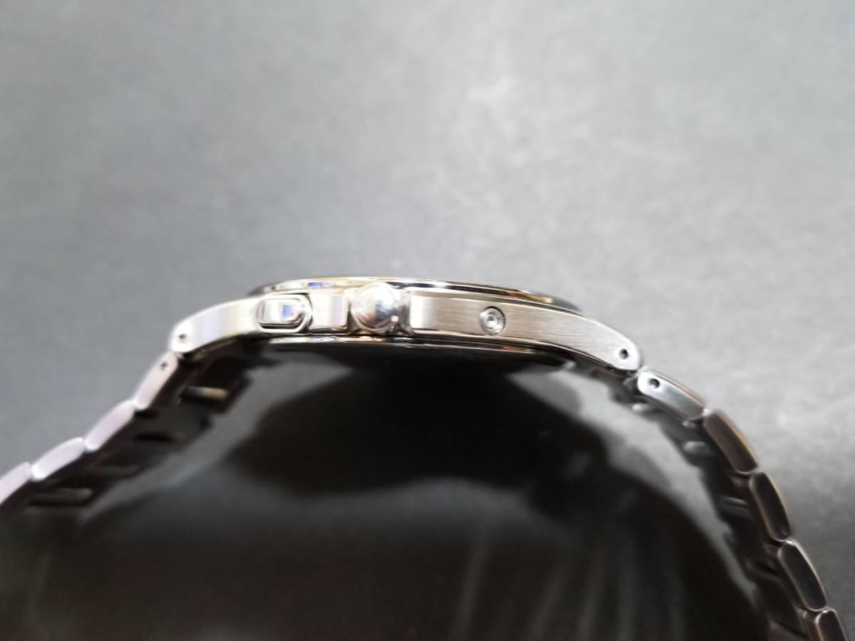 シチズン エクシード H430-T005675 電波ソーラー 腕時計 エコドライブ シェル文字盤 美品_画像5