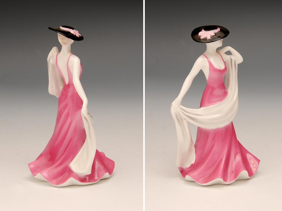 COALPOAT コールポート「poppy debutantes」フィギュリン 陶磁人形 英国製 西洋美術 限定品97品の内の11品目 b5907o_画像7
