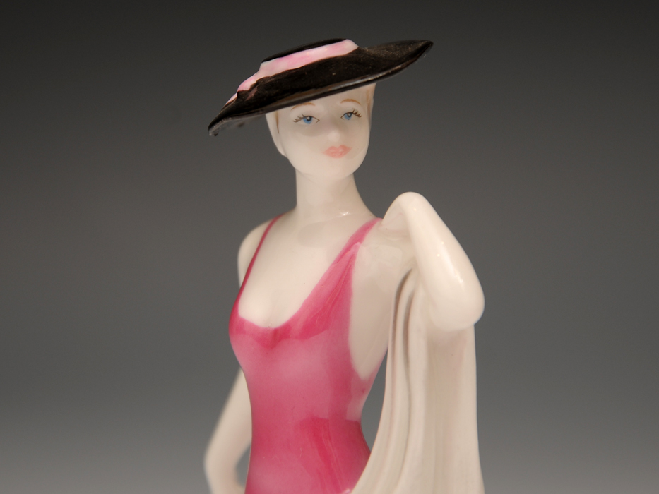 COALPOAT コールポート「poppy debutantes」フィギュリン 陶磁人形 英国製 西洋美術 限定品97品の内の11品目 b5907o_画像3