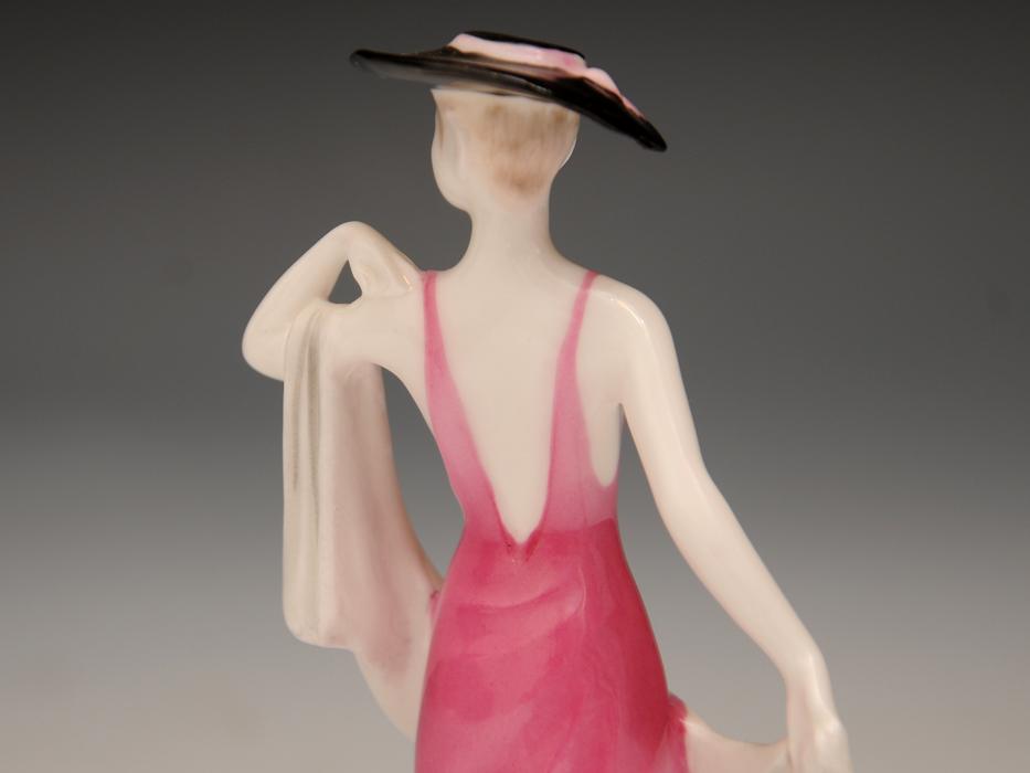 COALPOAT コールポート「poppy debutantes」フィギュリン 陶磁人形 英国製 西洋美術 限定品97品の内の11品目 b5907o_画像4