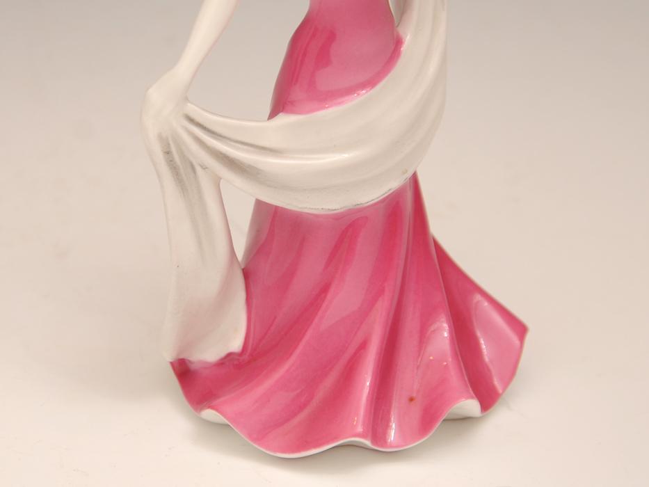 COALPOAT コールポート「poppy debutantes」フィギュリン 陶磁人形 英国製 西洋美術 限定品97品の内の11品目 b5907o_画像5