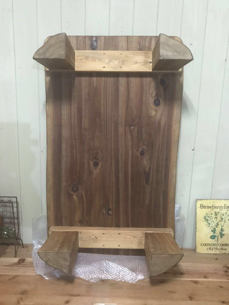 小さな森の倉庫 一枚板 テーブル ローテーブル 座卓 リビングテーブル センターテーブル 天然木 無垢 杉 ダイニング 森林浴 自然塗料_画像5