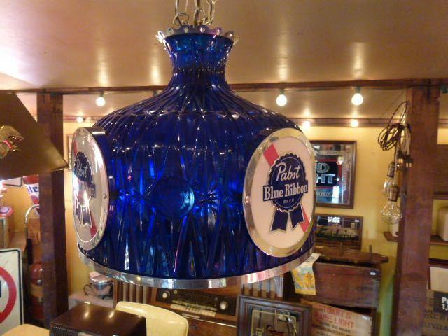 60s Pabst Blue Ribbon アンティーク ライト 照明 テンダーロイン アメリカ ビール インテリア ビンテージ バー パブ パブスト _画像2