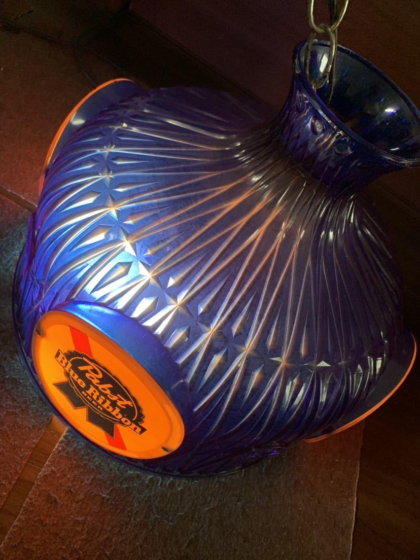 60s Pabst Blue Ribbon アンティーク ライト 照明 テンダーロイン アメリカ ビール インテリア ビンテージ バー パブ パブスト _画像7