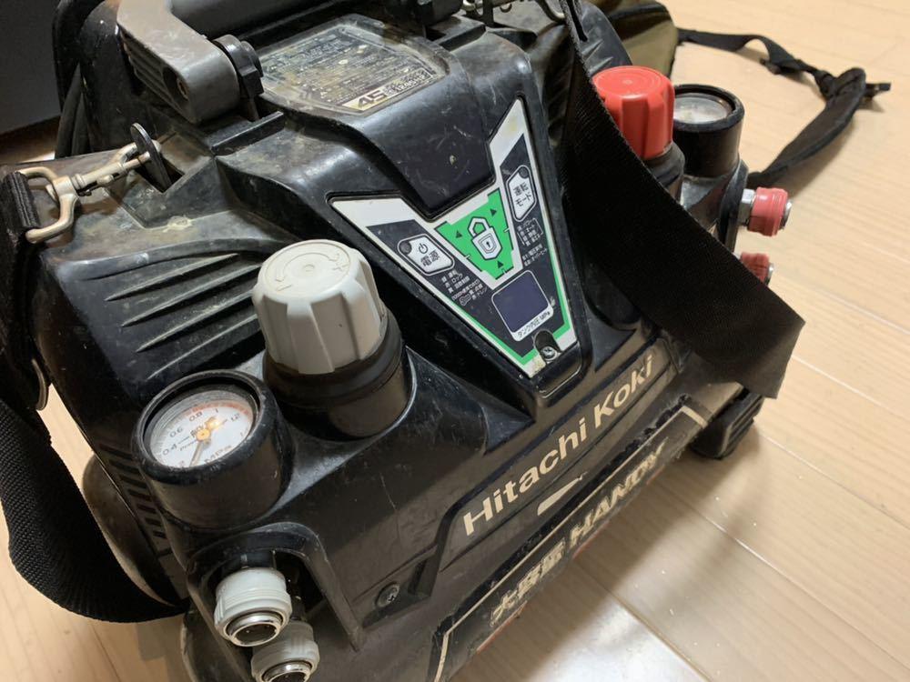 日立工機 高圧コンプレッサー EC 1245H2 ジャンク_画像2