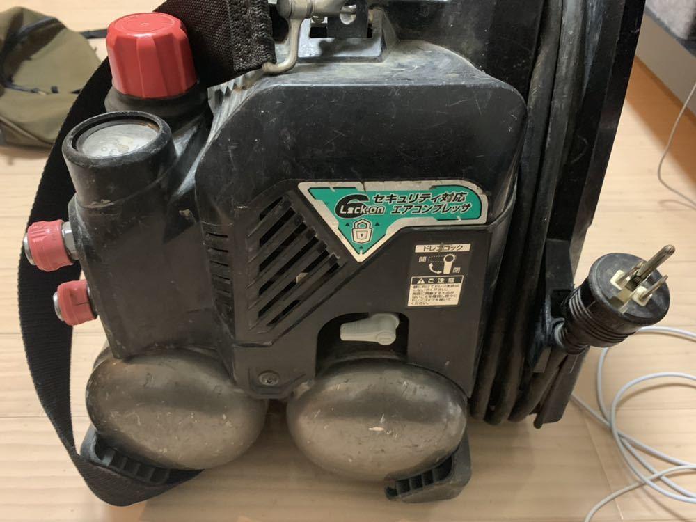 日立工機 高圧コンプレッサー EC 1245H2 ジャンク_画像4
