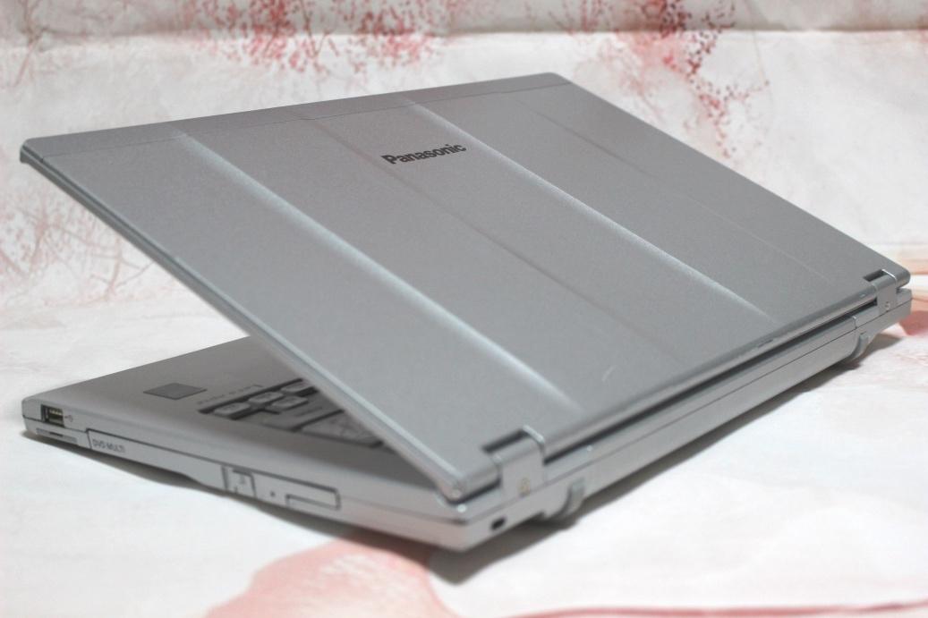 ★1円~★Panasonic Let's note CF-LX4EDMCS 14型 高速Core i5 5300U 2.30GHz 8GB SSD 128GB WiFi Bluetooth Webカメラ マルチ Win10 Office_画像9
