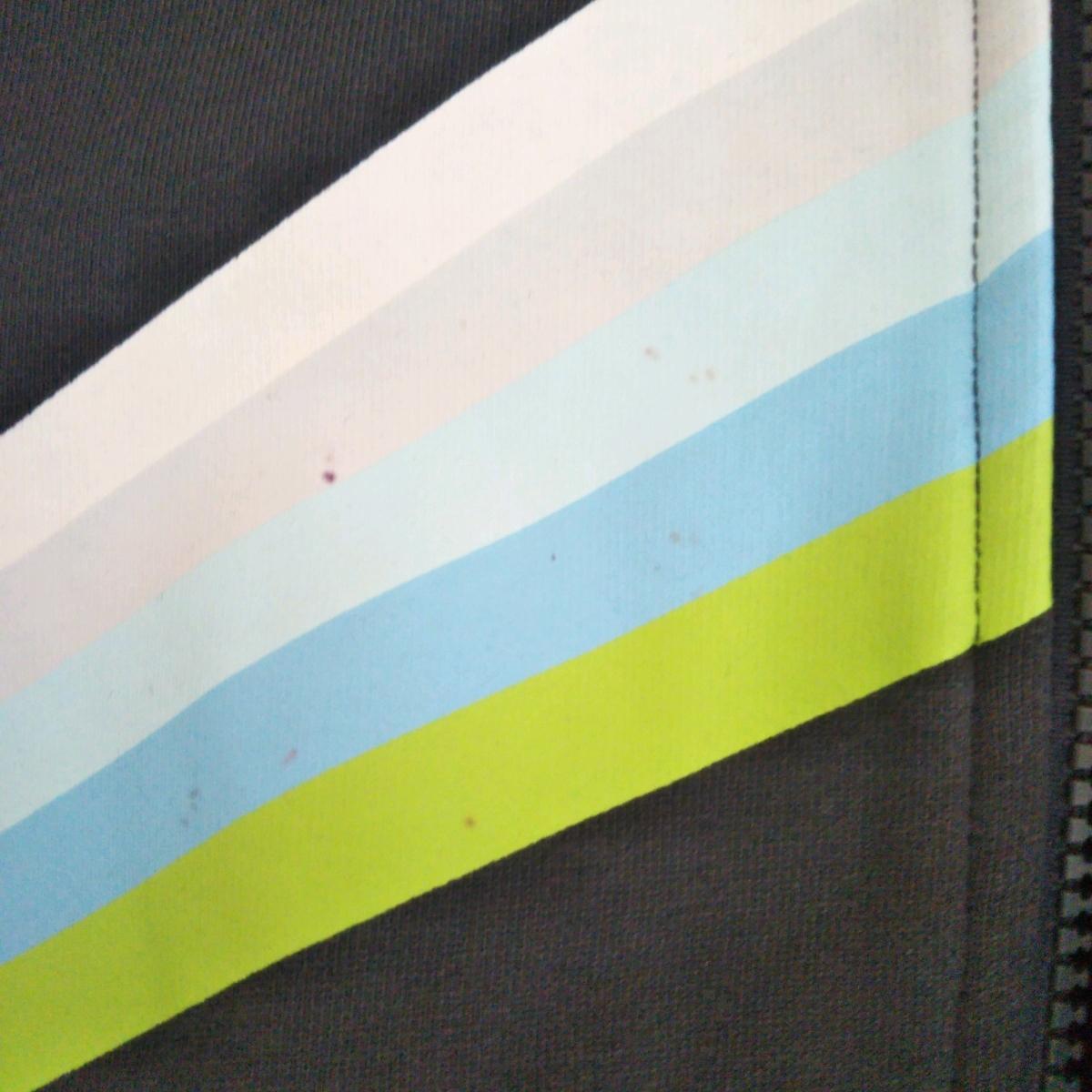 ナイキ NIKE メンズL 長袖 ジャージ 黒 ブラック スポーツ ワンポイントロゴ ビッグサイズ オーバーシルエット デザイン 古着女子 90s