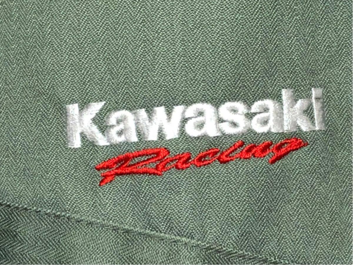 カワサキ Kawasaki 純正 ツナギ z2 z1 ss750 ss500 SS400 kh400 kh250 ディッキーズ_画像3