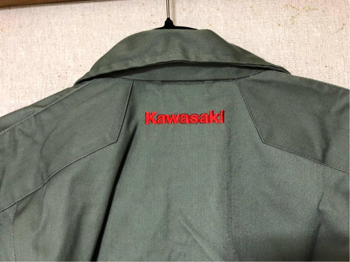 カワサキ Kawasaki 純正 ツナギ z2 z1 ss750 ss500 SS400 kh400 kh250 ディッキーズ_画像4