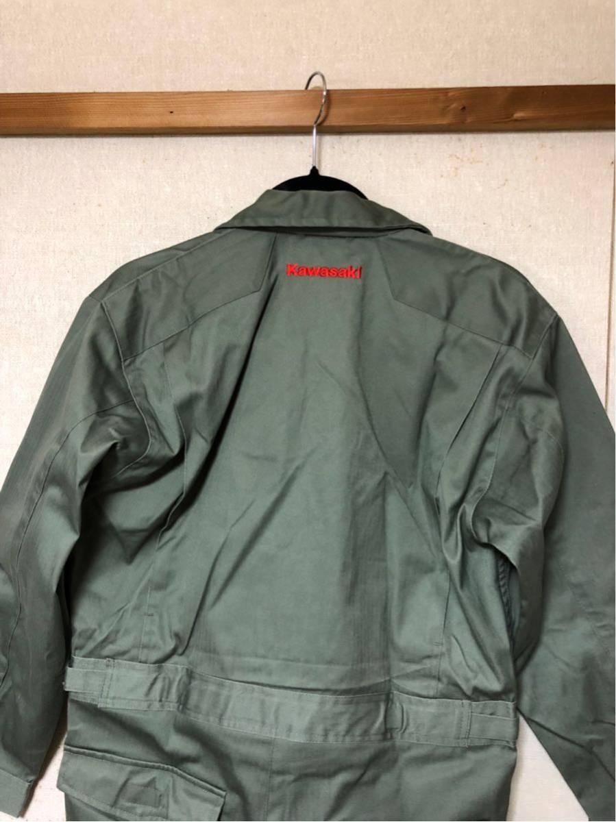 カワサキ Kawasaki 純正 ツナギ z2 z1 ss750 ss500 SS400 kh400 kh250 ディッキーズ_画像7