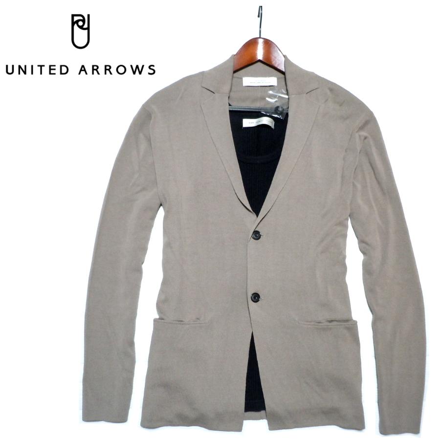 新品■ユナイテッドアローズ ソフトジャケット 2釦 センターベント サイズL UNITED ARROWS GREEN LABEL RELAXING