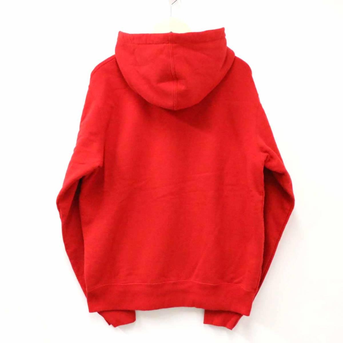 新品未使用 Supreme シュプリーム 19SS Small Box Zip Up Sweatshirt M RED レア 希少 完売 B16562_画像2