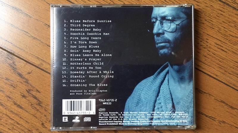 CD エリック・クラプトン ERIC CLAPTON From The Cradle