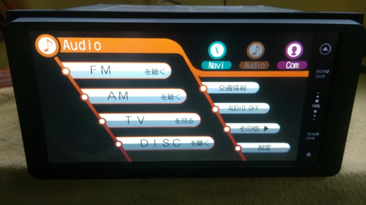 トヨタ純正ワンセグ内蔵SDナビ NSDD-W61 新品フィルムアンテナDVD再生 Bluetooth _画像3