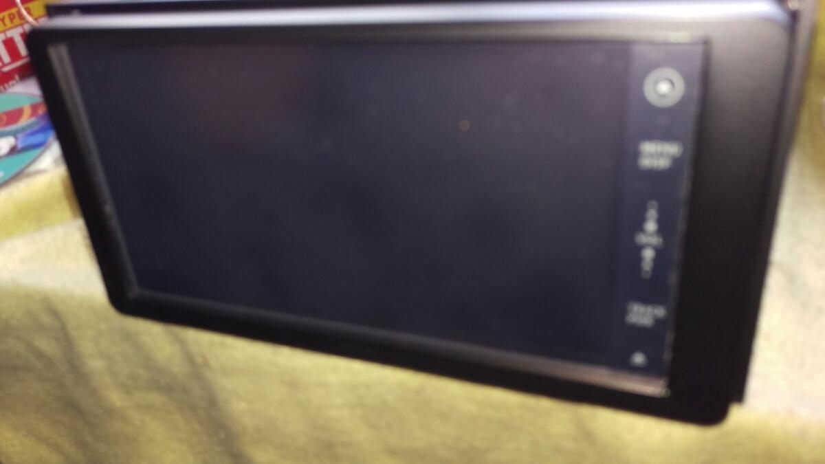 トヨタ純正ワンセグ内蔵SDナビ NSDD-W61 新品フィルムアンテナDVD再生 Bluetooth _画像4