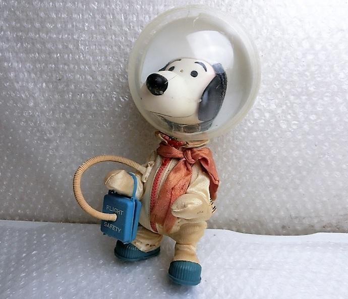 ★★枯渇寸前!!当時もの!!ビンテージ スヌーピー Vintage Snoopy Astronauts ◆1969年 Determined社製 NASA宇宙飛行士◆美品★★