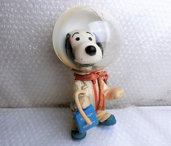 ★★枯渇寸前!!当時もの!!ビンテージ スヌーピー Vintage Snoopy Astronauts ◆1969年 Determined社製 NASA宇宙飛行士◆美品★★ _画像10
