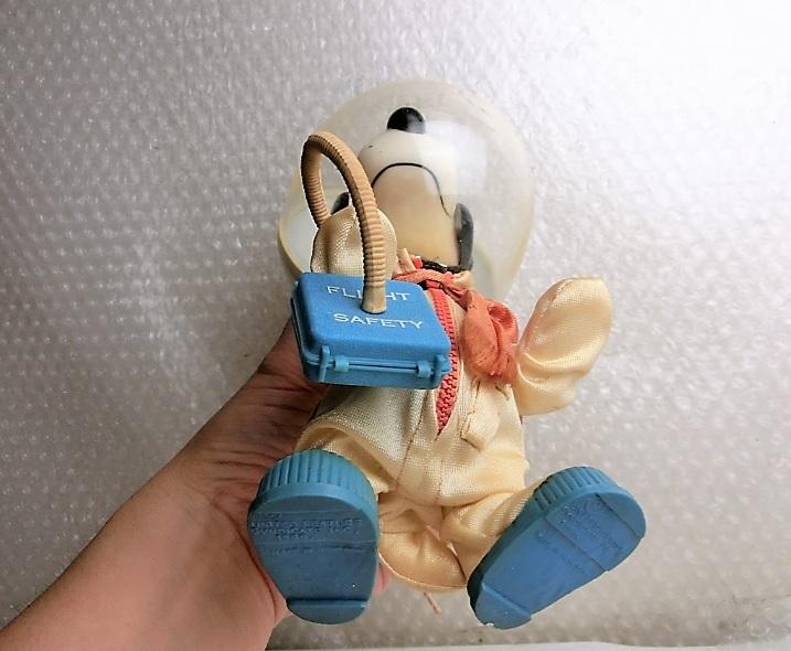 ★★枯渇寸前!!当時もの!!ビンテージ スヌーピー Vintage Snoopy Astronauts ◆1969年 Determined社製 NASA宇宙飛行士◆美品★★ _画像8