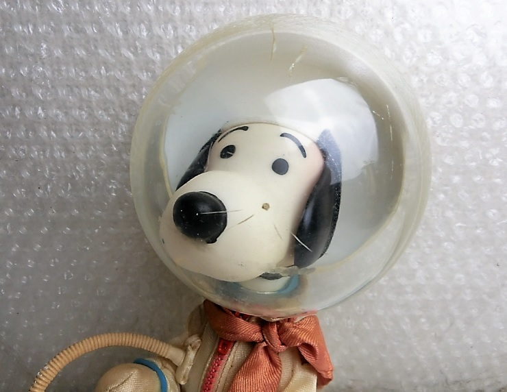 ★★枯渇寸前!!当時もの!!ビンテージ スヌーピー Vintage Snoopy Astronauts ◆1969年 Determined社製 NASA宇宙飛行士◆美品★★ _画像2