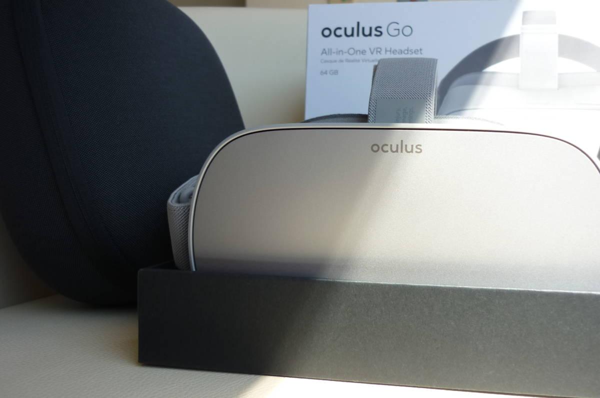 完全売切り1円スタート Oculus Go 64GBオキュラスゴー+正規オキュラスゴーキャリングケース付き 2019年4月29日に新品にて購入(使用歴少)