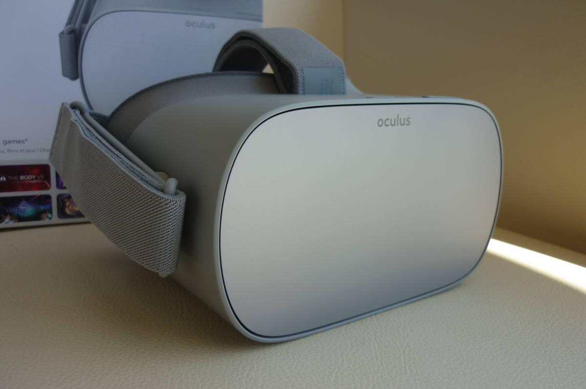 完全売切り1円スタート Oculus Go 64GBオキュラスゴー+正規オキュラスゴーキャリングケース付き 2019年4月29日に新品にて購入(使用歴少)_画像3
