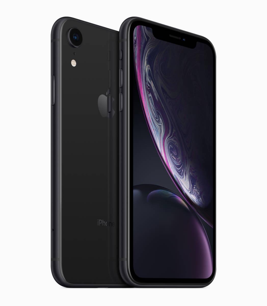 【新品未使用】iPhone XR ブラック 64GB SIMフリー