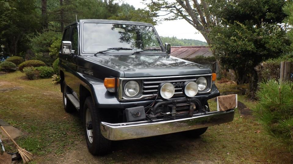 ランドクルーザー 70 LX  ランクル 5速MT ディーゼル 車検有り 電動ウィンチ装着 4WD 4ナンバー 2オーナー車 修理書コピー有り