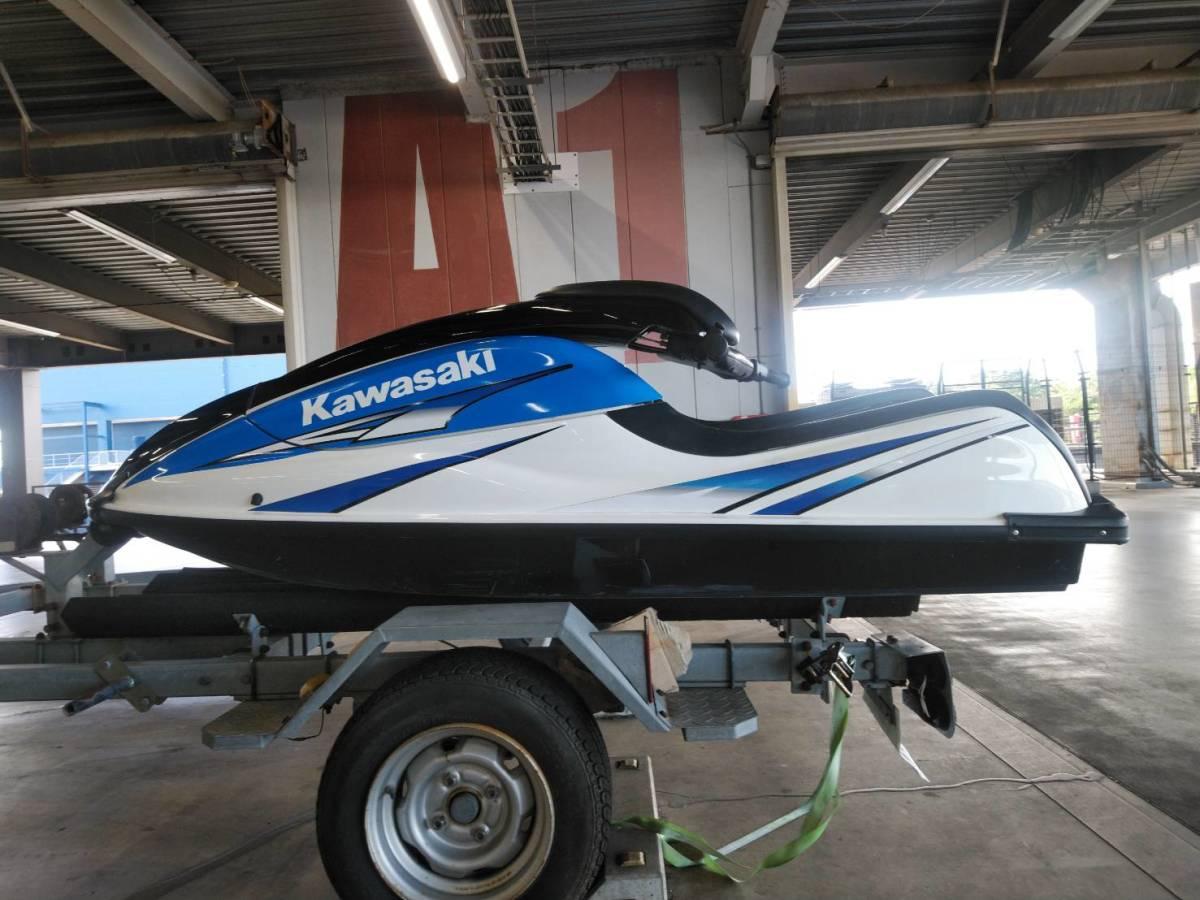 kawasaki SX-R 800 船検あり有効期限令和7年8月 sx-r カワサキ sj x2 YAMAHA ヤマハ SEA-DOO シードゥー_画像7