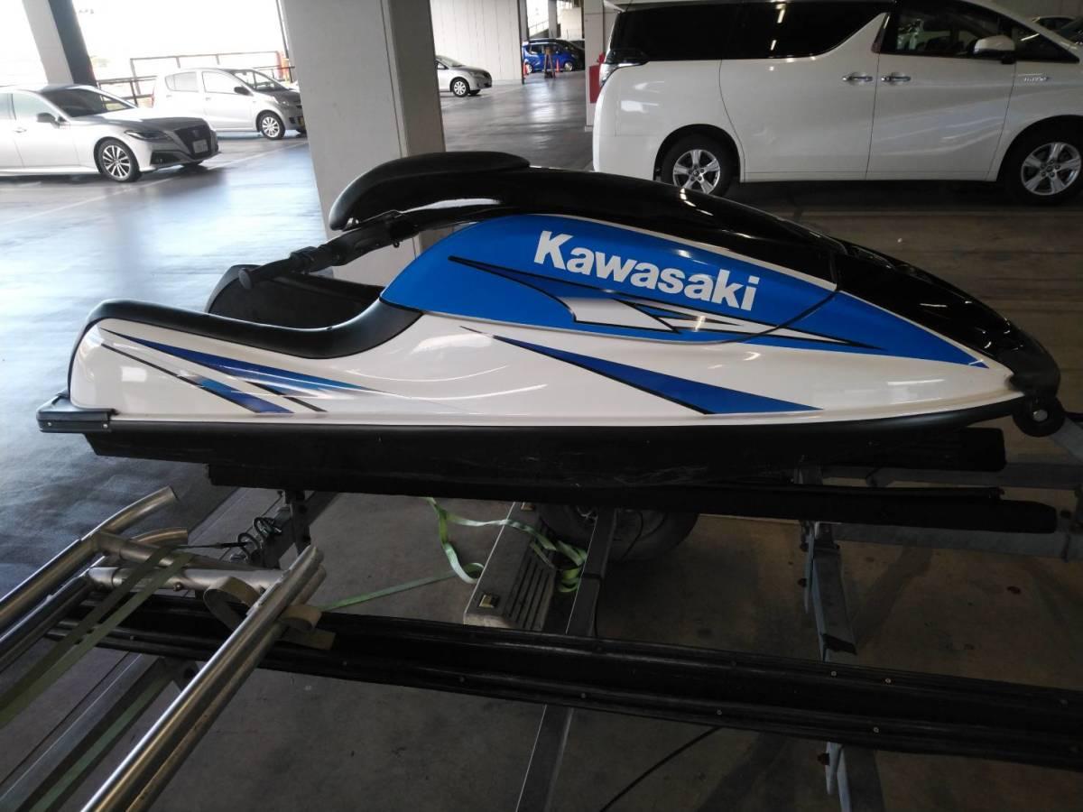 kawasaki SX-R 800 船検あり有効期限令和7年8月 sx-r カワサキ sj x2 YAMAHA ヤマハ SEA-DOO シードゥー_画像6