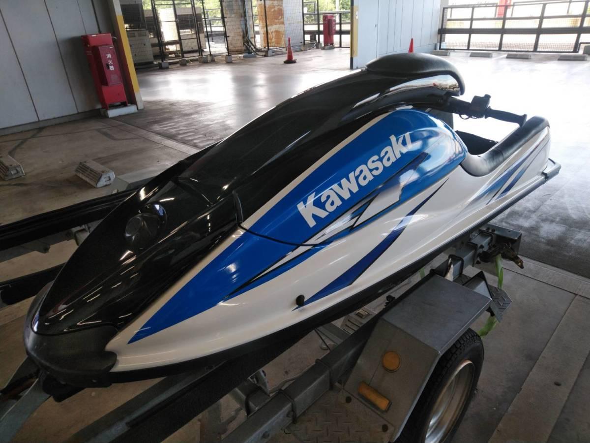 kawasaki SX-R 800 船検あり有効期限令和7年8月 sx-r カワサキ sj x2 YAMAHA ヤマハ SEA-DOO シードゥー