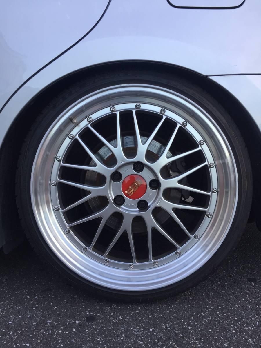 200クラウンアスリート 外装フル後期アニバーサリー仕様 モデリスタエアロ モデリスタマフラー 本物BBS LM20インチ 2オーナー車_画像7