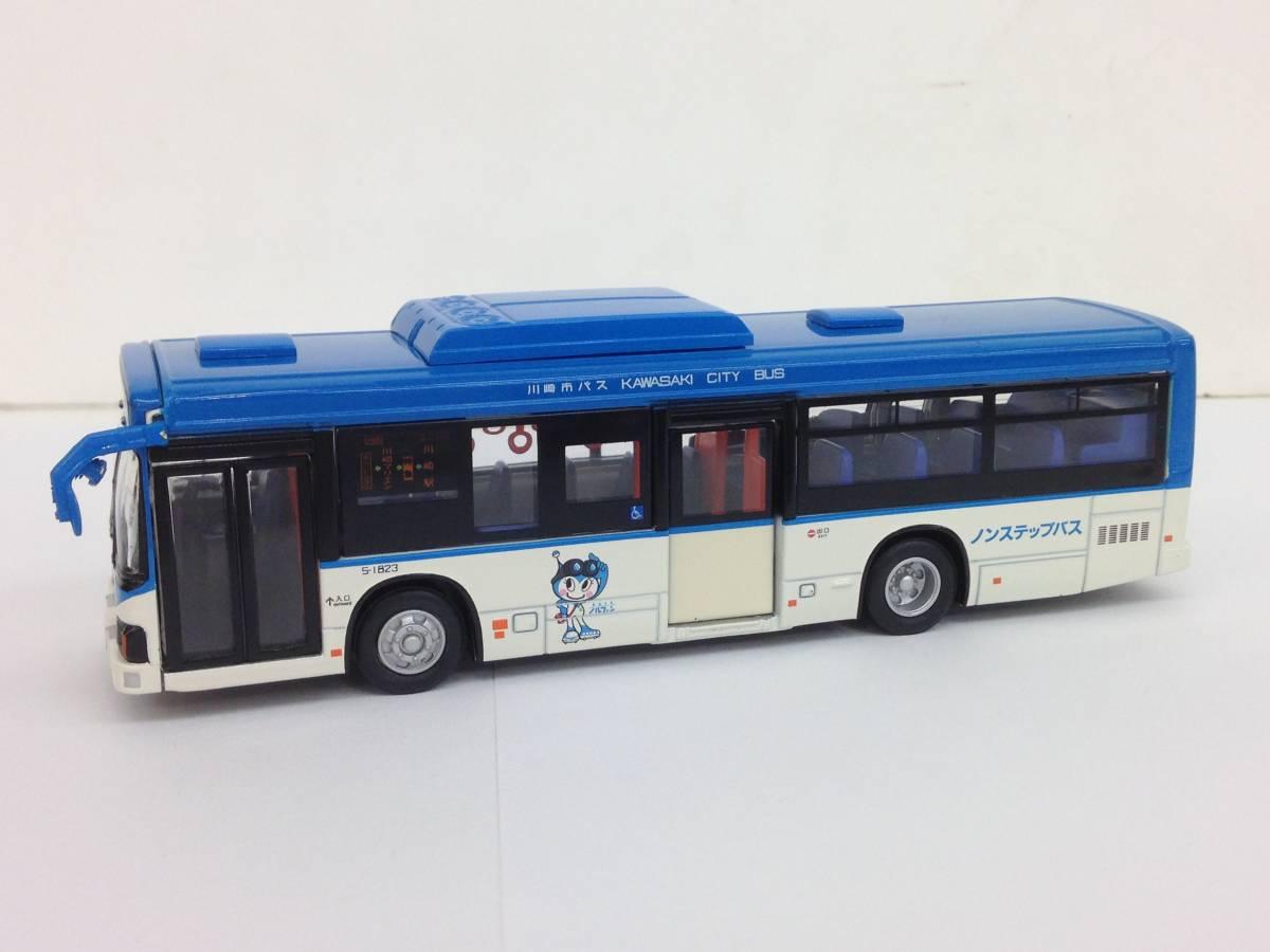 ダイキャストバスシリーズ KYOSHO 京商 1/80 川崎市バス 807-1 いすゞエルガ 68019 模型 ミニカー_画像3