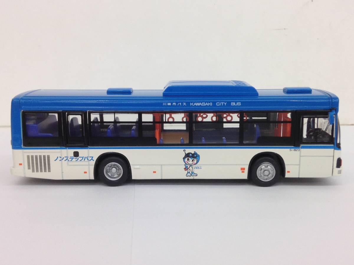 ダイキャストバスシリーズ KYOSHO 京商 1/80 川崎市バス 807-1 いすゞエルガ 68019 模型 ミニカー_画像4