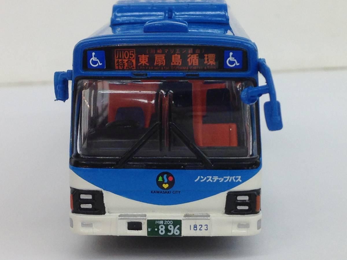 ダイキャストバスシリーズ KYOSHO 京商 1/80 川崎市バス 807-1 いすゞエルガ 68019 模型 ミニカー_画像5
