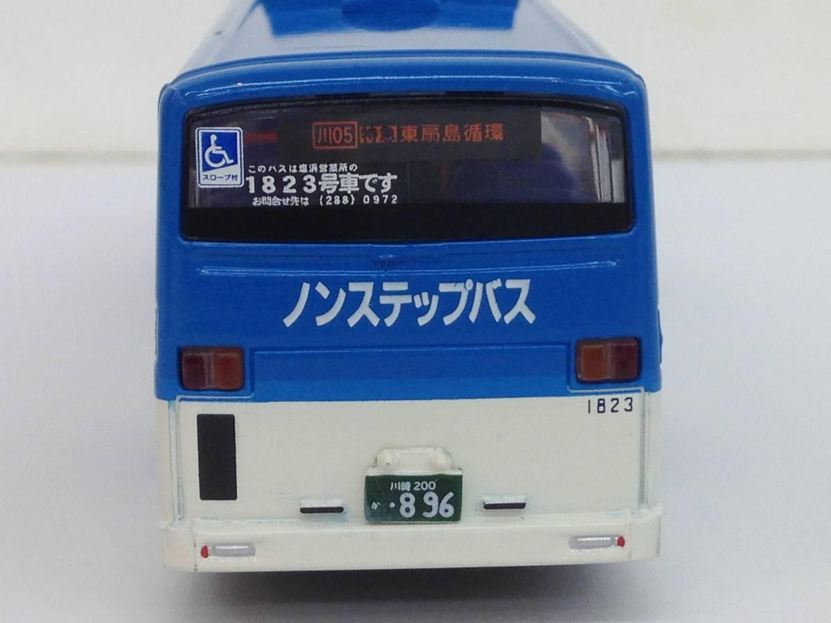 ダイキャストバスシリーズ KYOSHO 京商 1/80 川崎市バス 807-1 いすゞエルガ 68019 模型 ミニカー_画像6