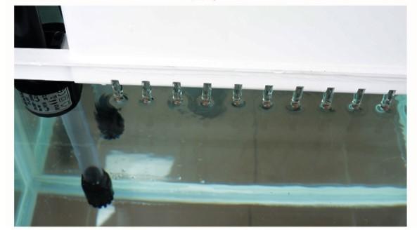 レイアウト ミニ家庭用 水族館 水槽 魚飼育 金魚の水槽セット 熱帯魚水槽セット デスクトップ LEDライト 水槽 ライト ペット用品省電ガラス_画像3