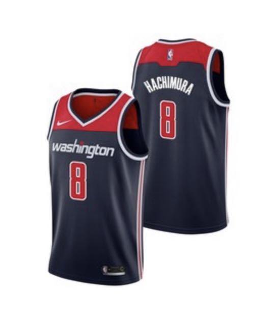 【新品未使用・タグ付き】NBA NIKE スウィングマンユニフォーム ワシントンウィザーズ 八村塁 日本代表_画像9