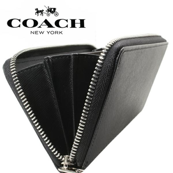 送料無料♪コーチ高級長財布●レキシントン サフィアーノブラック・F74769●COACHアウトレット新品・未使用品♪_画像9