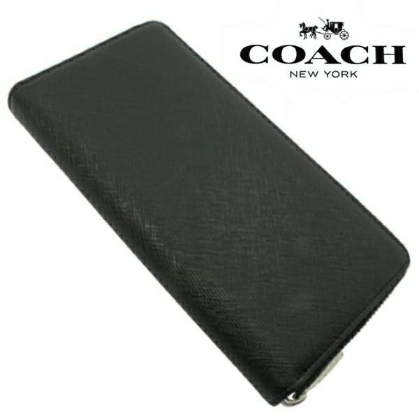 送料無料♪コーチ高級長財布●レキシントン サフィアーノブラック・F74769●COACHアウトレット新品・未使用品♪_画像5