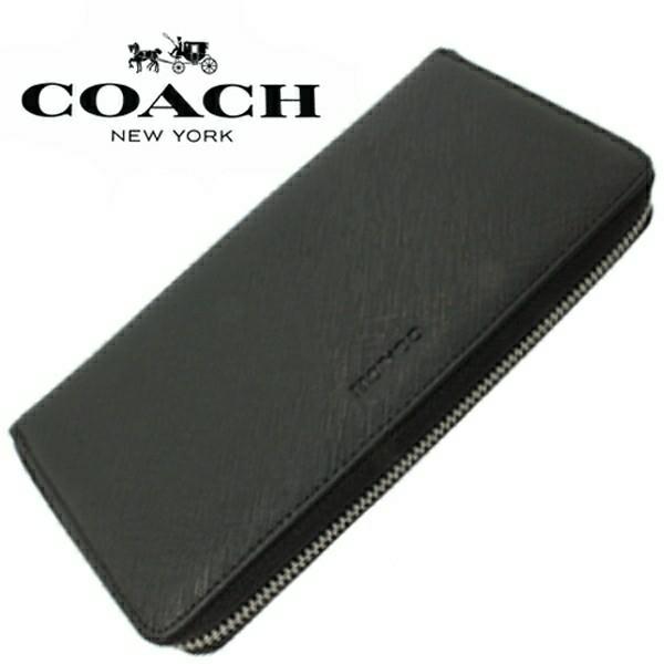 送料無料♪コーチ高級長財布●レキシントン サフィアーノブラック・F74769●COACHアウトレット新品・未使用品♪_画像4