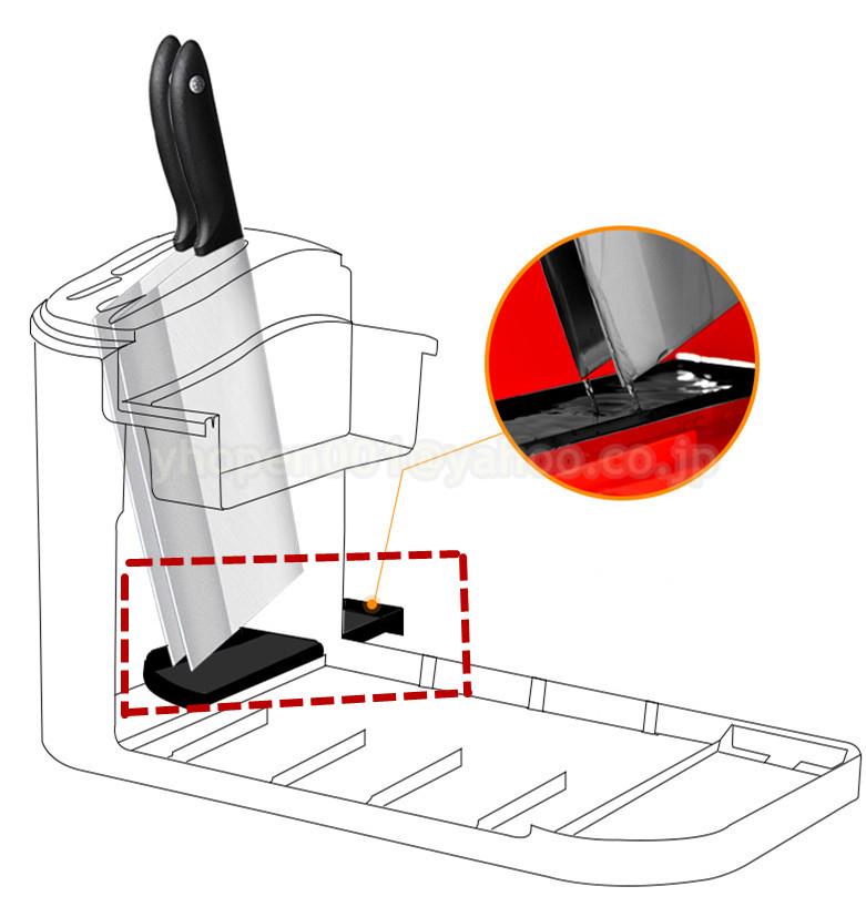 調味料ラック スパイスボックス 収納ケース キッチン雑貨 ケース フラップ扉が便利な 調味料入れ 省スペース 棚 プラチック_画像2