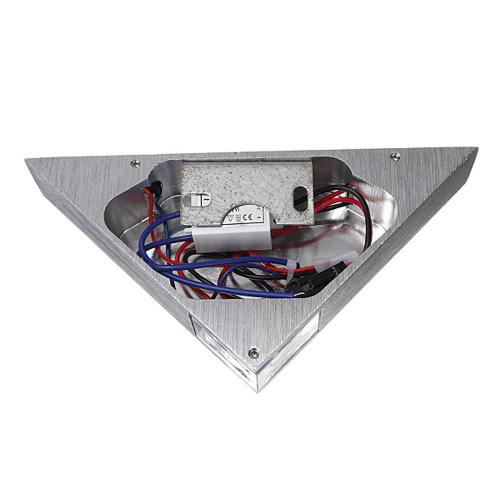 [[KO]]現代の Led  ウォールランプ  3 ワットアルミボディの三角形 ウォールライト寝室ホーム照明器具 バスルーム照明器具壁燭台_画像5