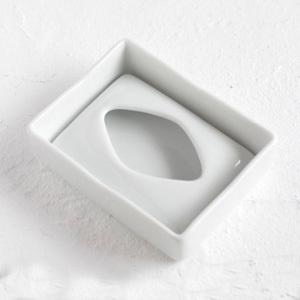 ポケットティッシュケース ポーセラーツ白磁