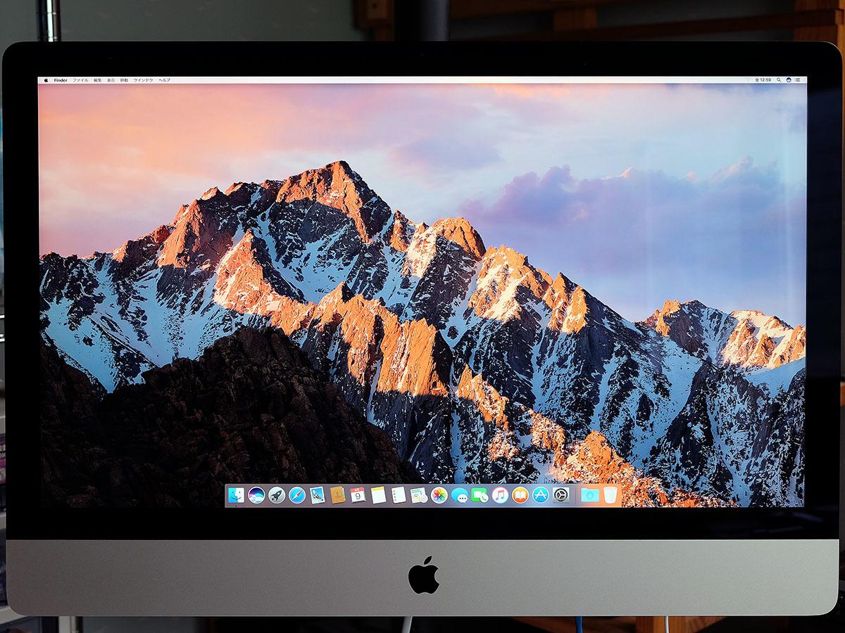 【中古】iMac 27インチ Retina 5k Late 2015 VESAマウントモデル 本体のみ