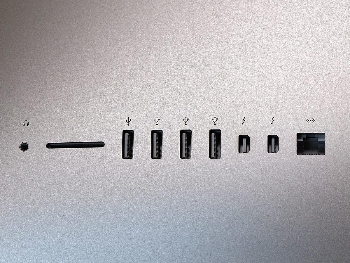 【中古】iMac 27インチ Retina 5k Late 2015 VESAマウントモデル 本体のみ_画像3