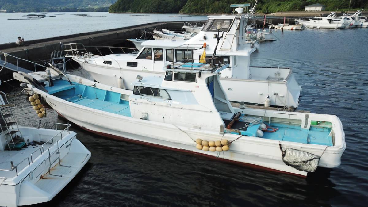 ヤマハDYー46 波には強く釣には最高 _画像2