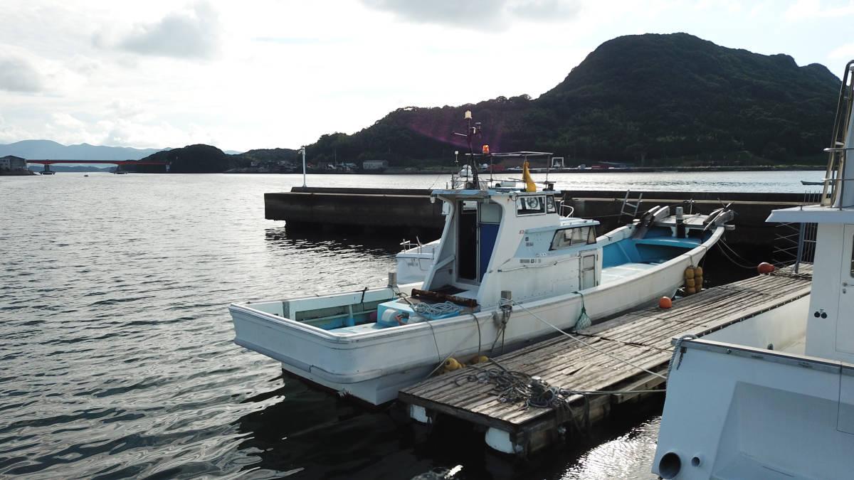 ヤマハDYー46 波には強く釣には最高 _画像1