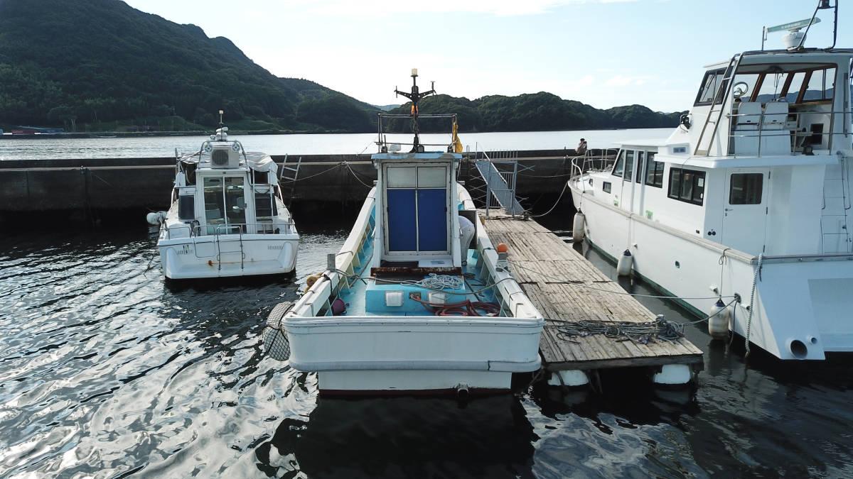 ヤマハDYー46 波には強く釣には最高 _画像3