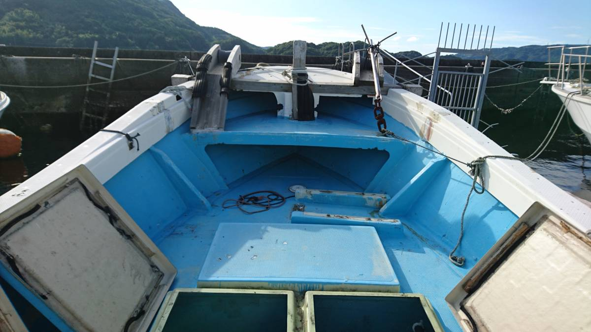 ヤマハDYー46 波には強く釣には最高 _画像10
